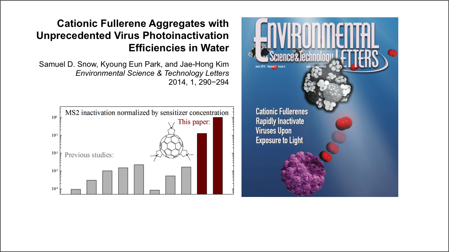 Super efficient germ-killing fullerene